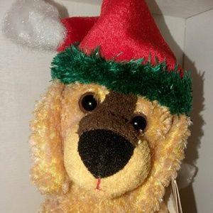 TY Jinglepup Christmas beanie baby